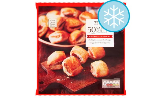 Tesco Mini Sausage Rolls