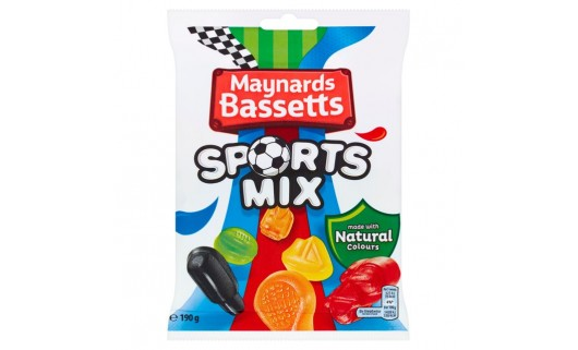 Maynards Bassetts Sport Mix 190g