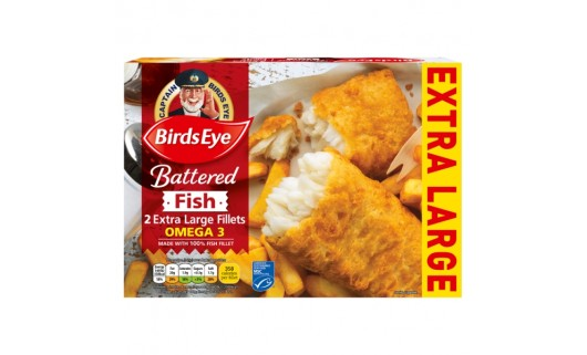 BirdsEye Battered Fish Fillets