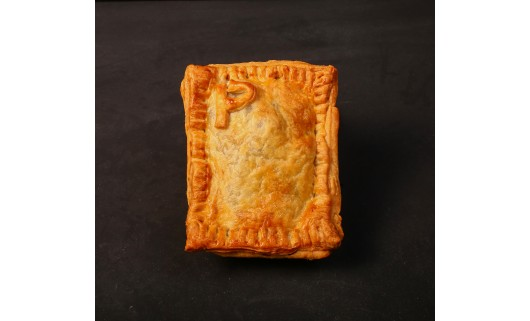 Peppered Steak Pie with Grated Cheese