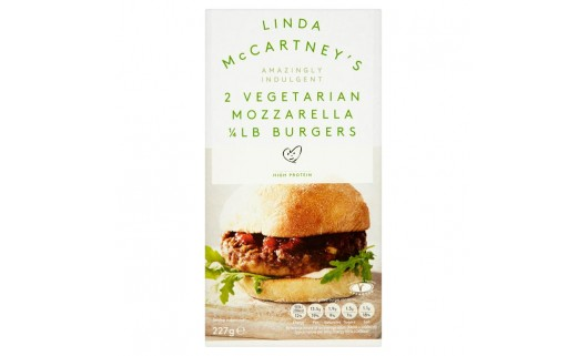 Linda McCartney's Mozzarella Burger