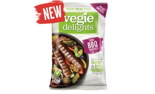 Veggie Delights Thick BBQ Sausages