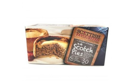 Scottish Favorites - Strathmore Scotch Pies x 4
