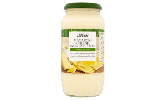 Tesco Macaroni Cheese Pasta Bake Sauce