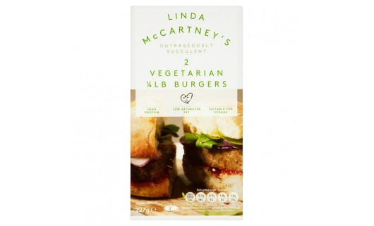 Linda McCartney's Vegetarian Burger